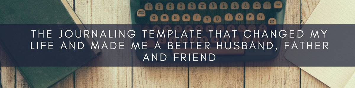 The Journaling Template that Changed My Life Blog Post